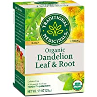 Traditional Medicinals Tea, Organic Dandelion Leaf and Root Tea 16 Bags