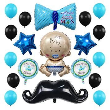 Amazon 23 Pack Baby Shower Balloons Decoration Welcome Baby