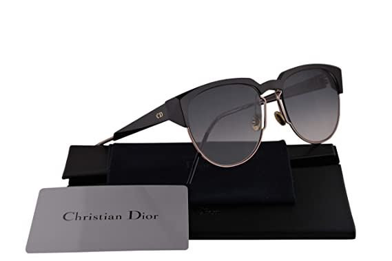 9592b7e3aee7 Image Unavailable. Image not available for. Color  Christian Dior  DiorSpectral Sunglasses Black Ivory w Grey Gradient ...