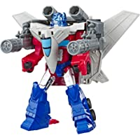 "TRANSFORMERS Cyberverse Power of the Spark - Optimus Prime Convertible 5.75"" Action Figure - Sky Turbine Spark Armor…"