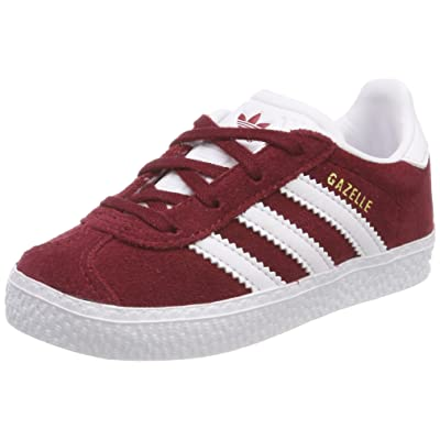 adidas Gazelle, Sneakers Basses Mixte Bébé, Rot