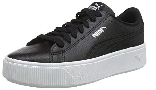 685189a1a34 Puma Women s Vikky Stacked L Low-Top Sneakers  Amazon.co.uk  Shoes ...