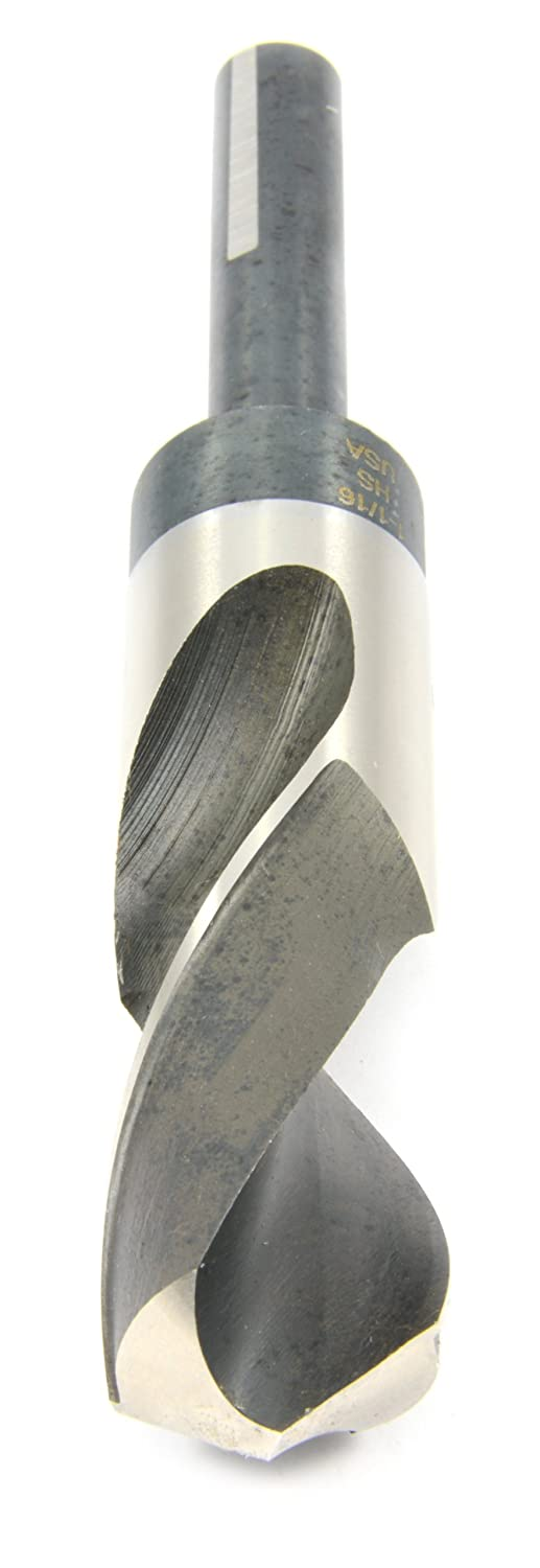 1-1//16-Inch Industrial Pro Silver and Deming with Flatted 1//2-Inch Shank Forney 20690 Drill Bit