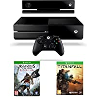 Xbox One Console with Kinect, Titanfall and Assassin's Creed 4