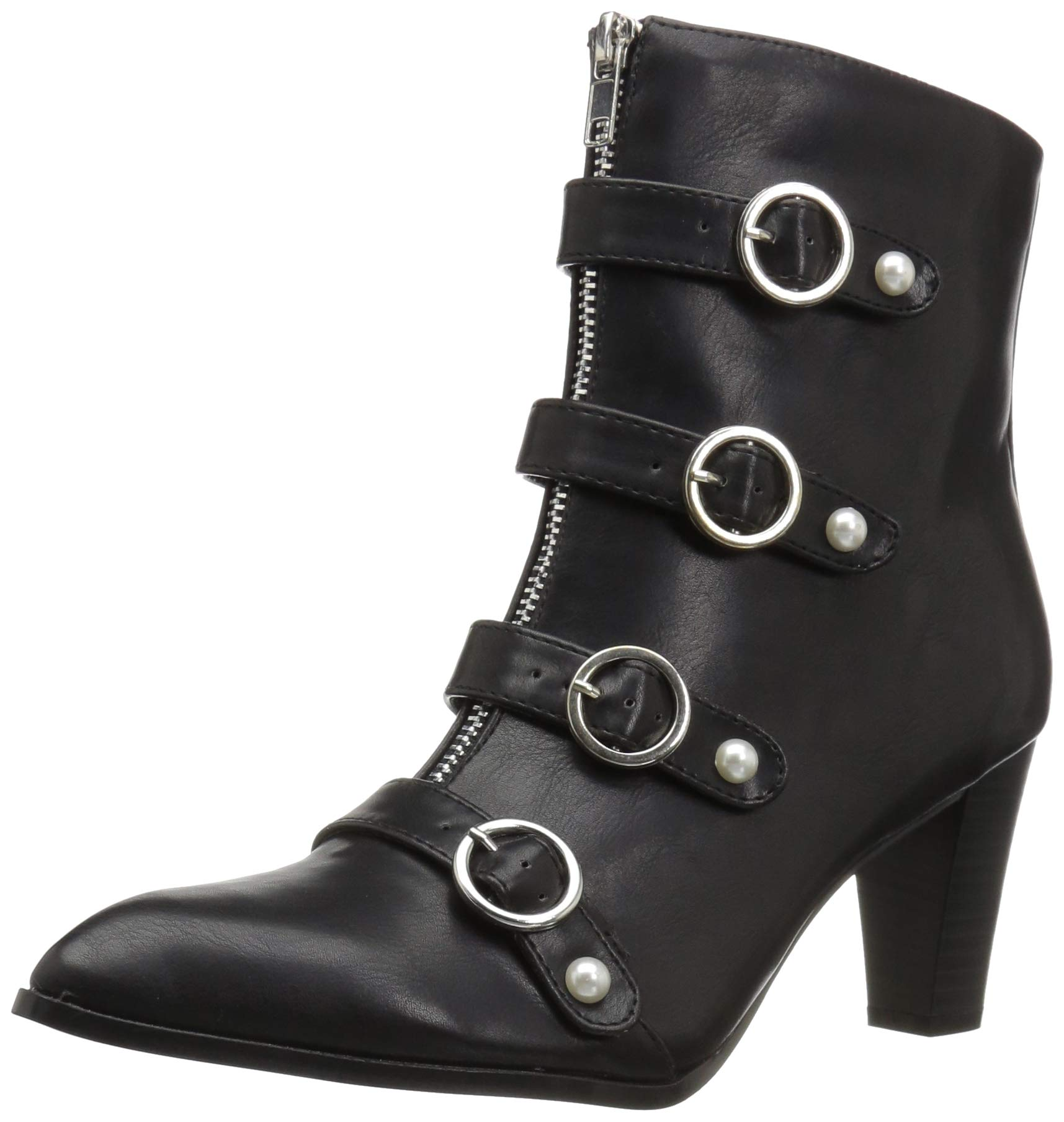 Penny Loves Kenny Women's ASAP Fashion Boot, Black Shine Texture, 7 Medium US