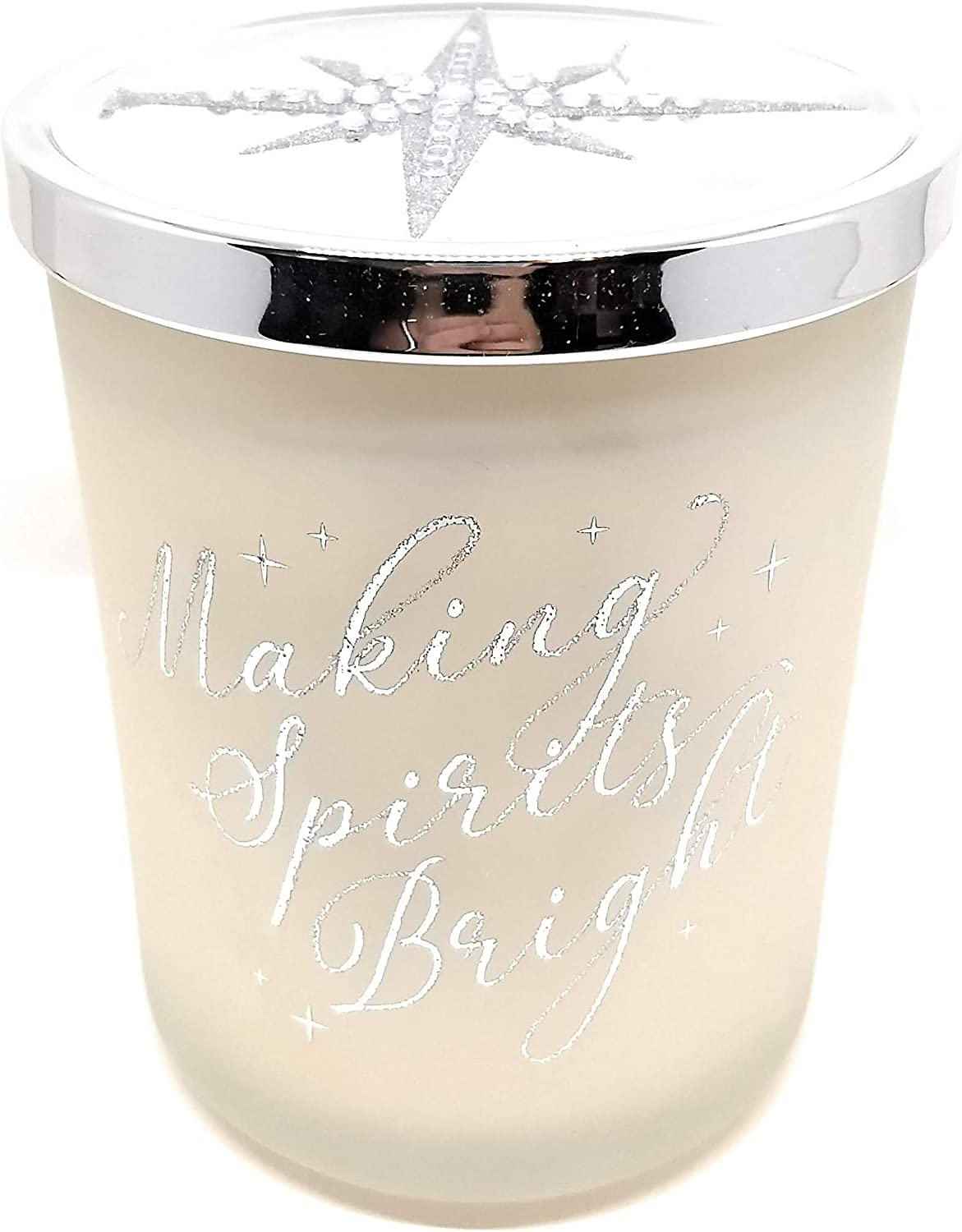 DW Home Christmas Holiday Candles - Limited Edition Star Lid 15 Ounce Large Candles with Christmas Song Titles (Making Spirits Bright)