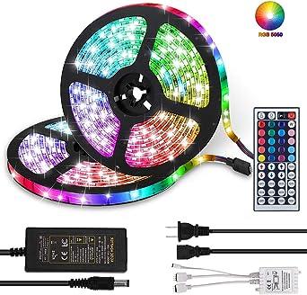 5m SMD 5050 300 LEDs Waterproof Flexible LED Strip Lights 12V for Home Kitchen
