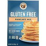 King Arthur, Gluten Free Pancake Mix, Certified Gluten-Free, Non-GMO Project Verified, Certified Kosher, 15 Ounces (Pack of 6