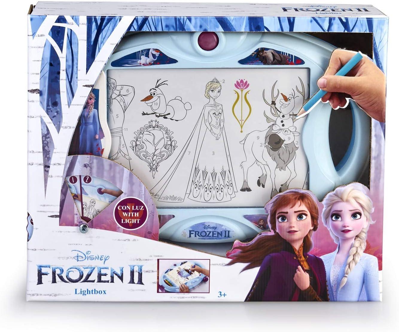 Magic Artist - Light Box Frozen 2, Pizarra para Niños y Niñas a ...