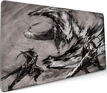 Star Wars Mouse Pad Rectangle Non-Slip Rubber Electronic Sports Oversized Large Mousepad Gaming Dedicated,for Laptop Computer /& PC 15.8X35.4 Inch