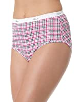 Hanes Women's Core Cotton Extended Size Brief Panty (Pack of 5)