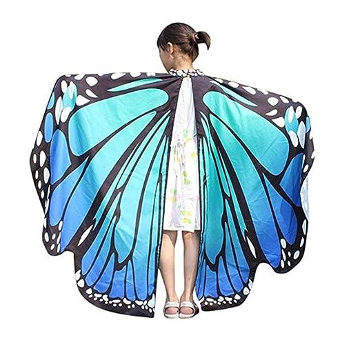 d779e3db76068 Amazon.com: Luckcome 2018 New Kid Girl Halloween Butterfly Wings ...