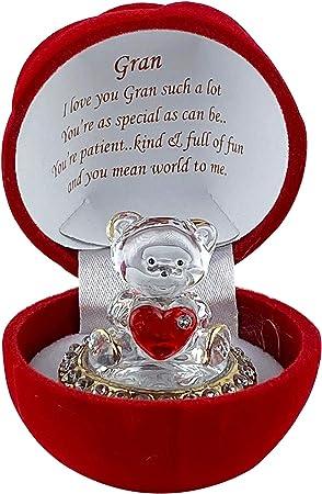 SAFRI® Gran Love, Ornamento per Compleanno, Anniversario, Natale