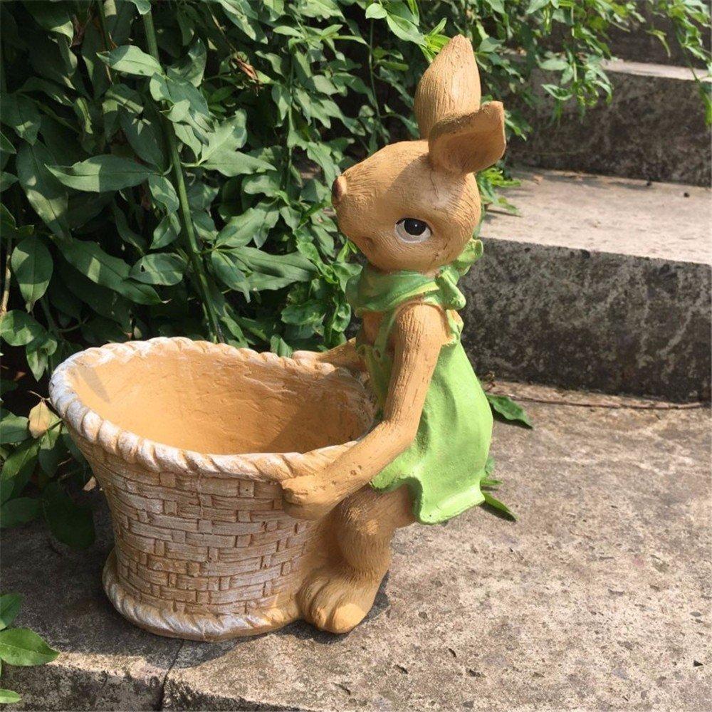 ZHAS American Countryside Pastoral Cute Cute Rabbit Ashtray Animal Decoration Ashtray furnishings, B