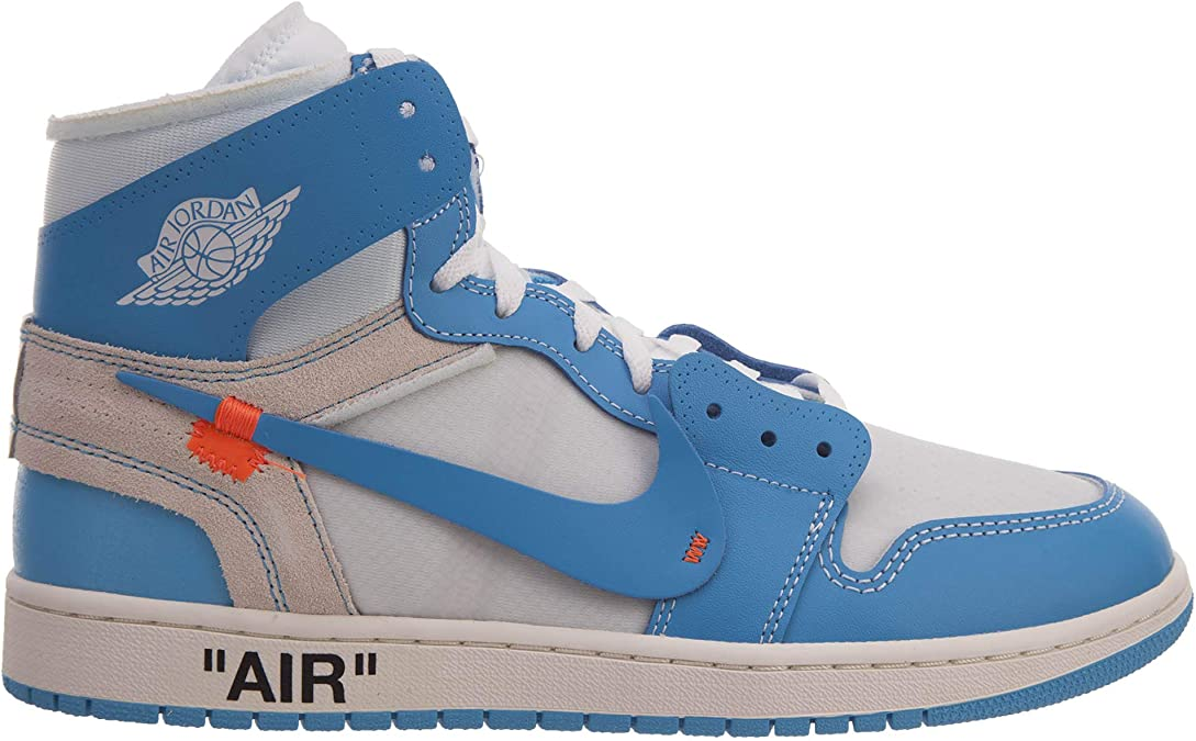 UNC The 10 AJ1X Air Nrg Off Mens White Basketball Shoes Ow High Top Fashion Sneaker AQ0818148
