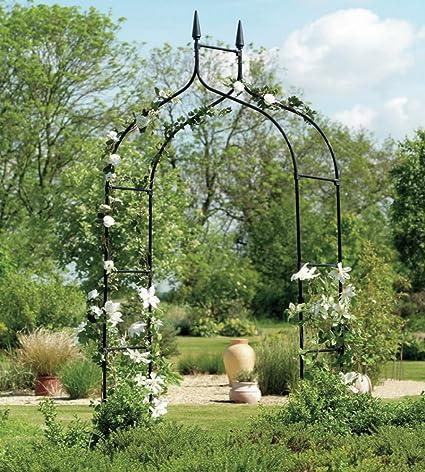 Amazon Extra Tall Gothic Arbor Garden Trellis Outdoor Metal