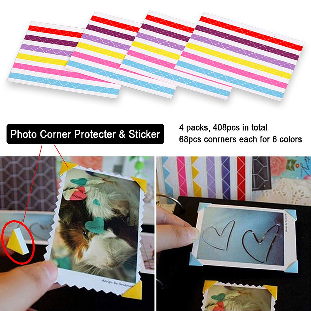 Thick Additional Craft Paper Cardboard for 10x10 inch Three-Ring Loose-Leaf Binder Heart-Shaped Photo Album and DIY Scrapbook ADVcer Direct Black ADVcer 10 Sheets Double Sided 9.84 x 10.24 inch Refill Pages