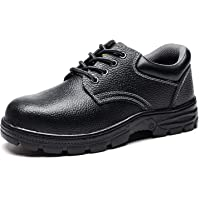 Judy Bacon Men's Athletic Work Boot Steel-Toe Saftey Shoes
