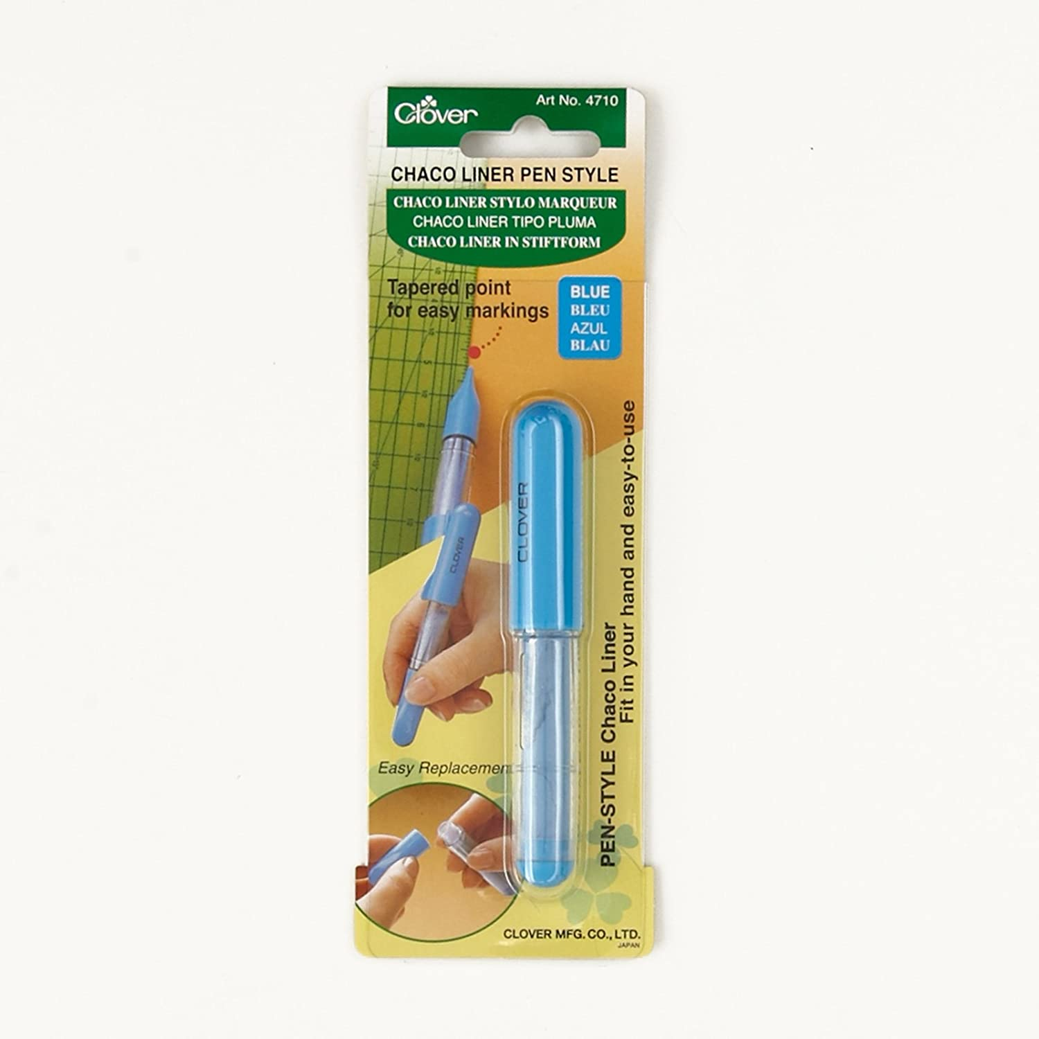 Clover Pen Style Chaco Liner Silver