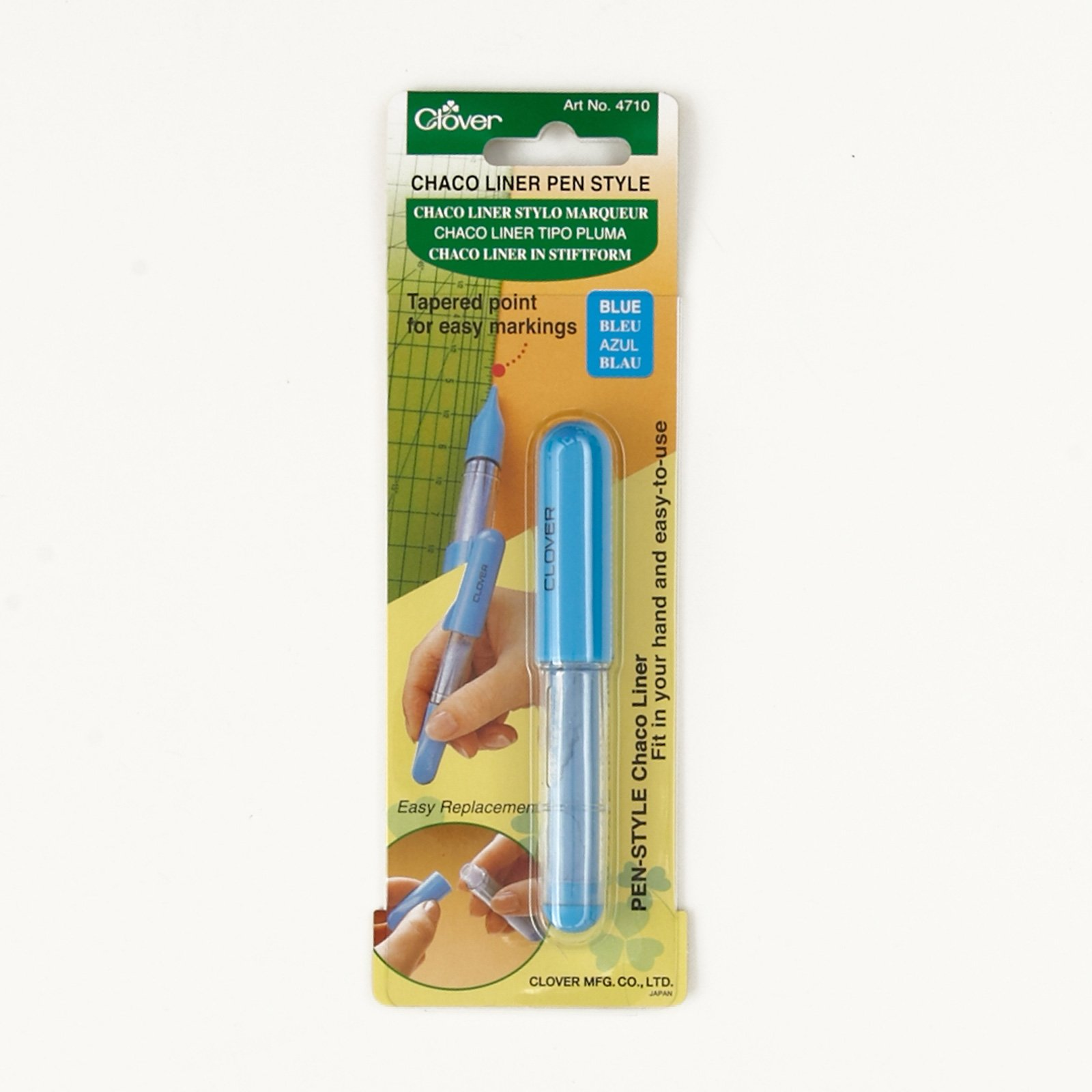 Clover Chaco Liner Pen Blue by Clover