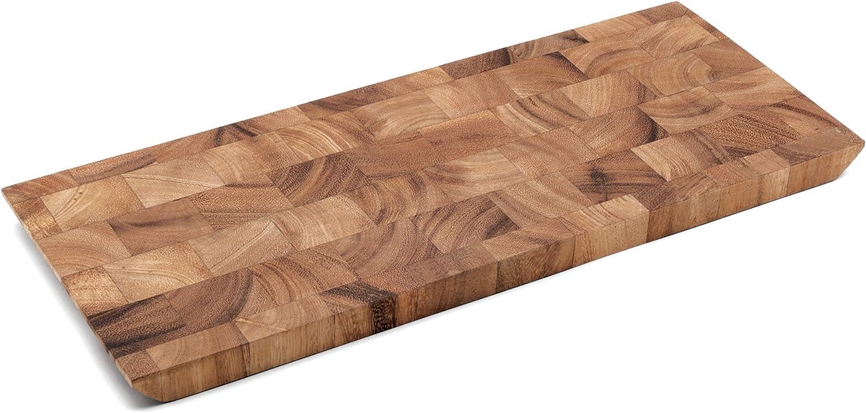 Canary Wood and Wenge Handled Cheese or Sushi Board Hardwood Ash