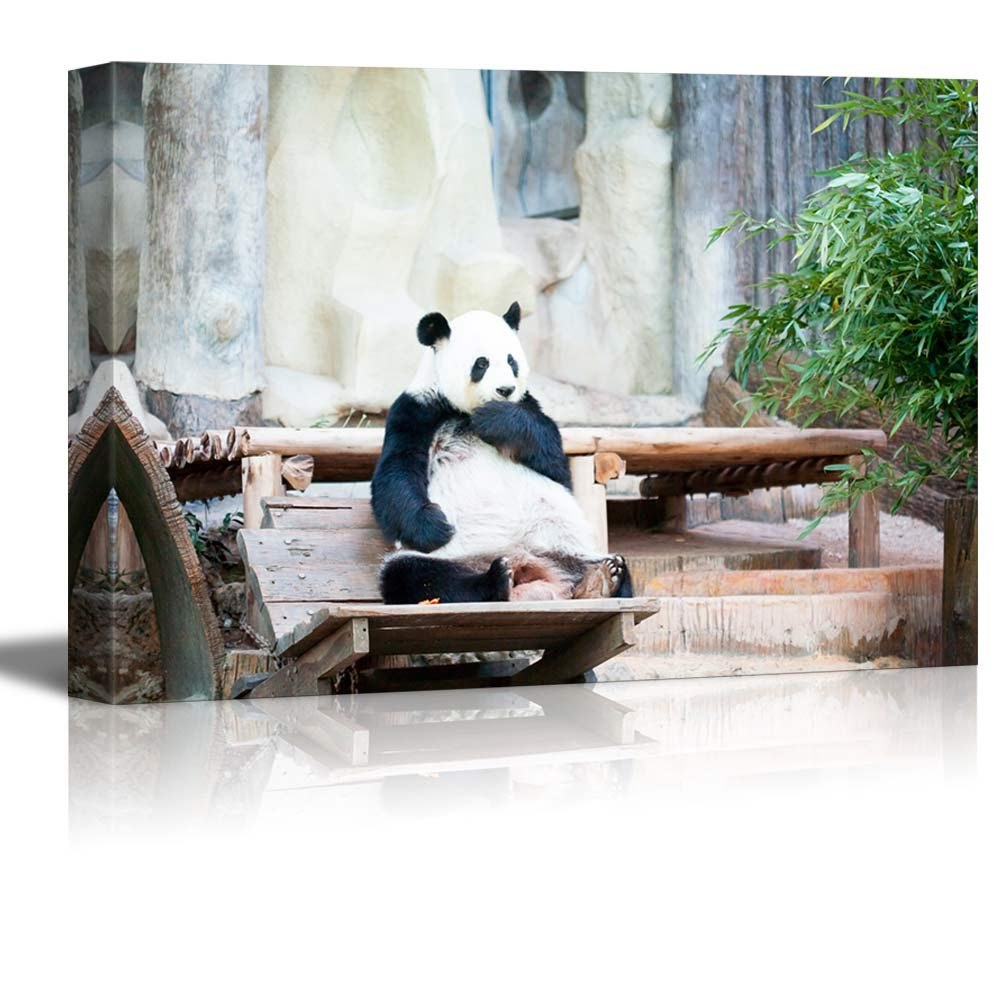 Art prints framed art canvas prints for Panda bear decor