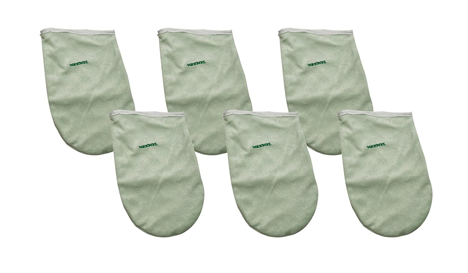 WaxWel 11-1711 6 Piece Terry Hand Mitt Set for Paraffin Treatments