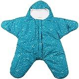 ARAUS Bebé Saco De Dormir Las Estrellas De Mar Recién Nacido Guardapolvos Algodón Invierno 0-1Años