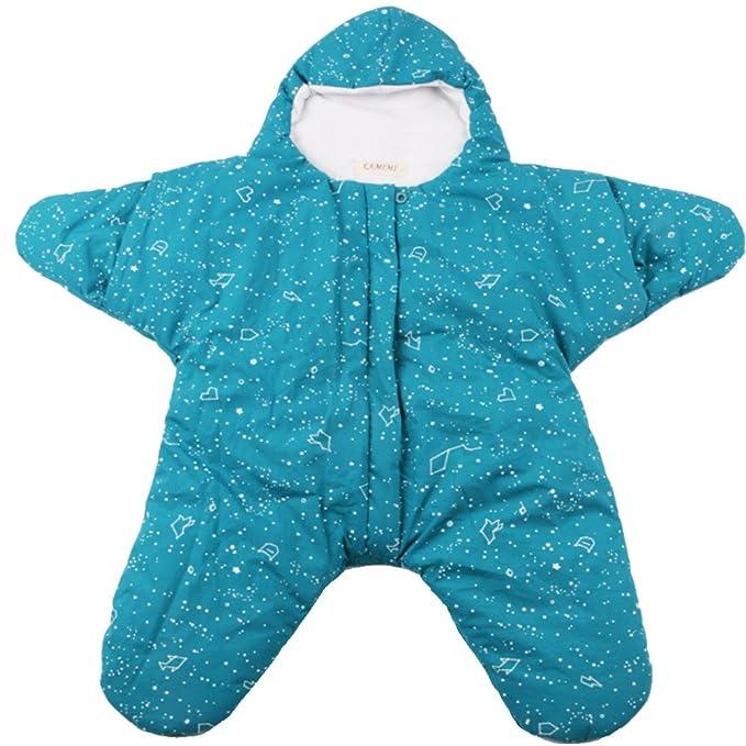 ARAUS Bebé Saco De Dormir Las Estrellas De Mar Recién Nacido Guardapolvos Algodón Invierno 0-1Años: Amazon.es: Ropa y accesorios