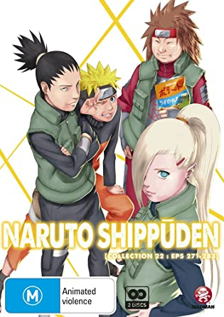 Amazon.com: Naruto Shippuden Collection 22 | Episodes 271 ...