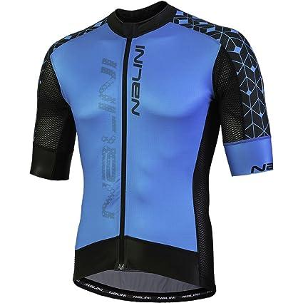 Amazon.com   Nalini Velocita Short-Sleeve Jersey - Men s   Sports ... b65862c6a