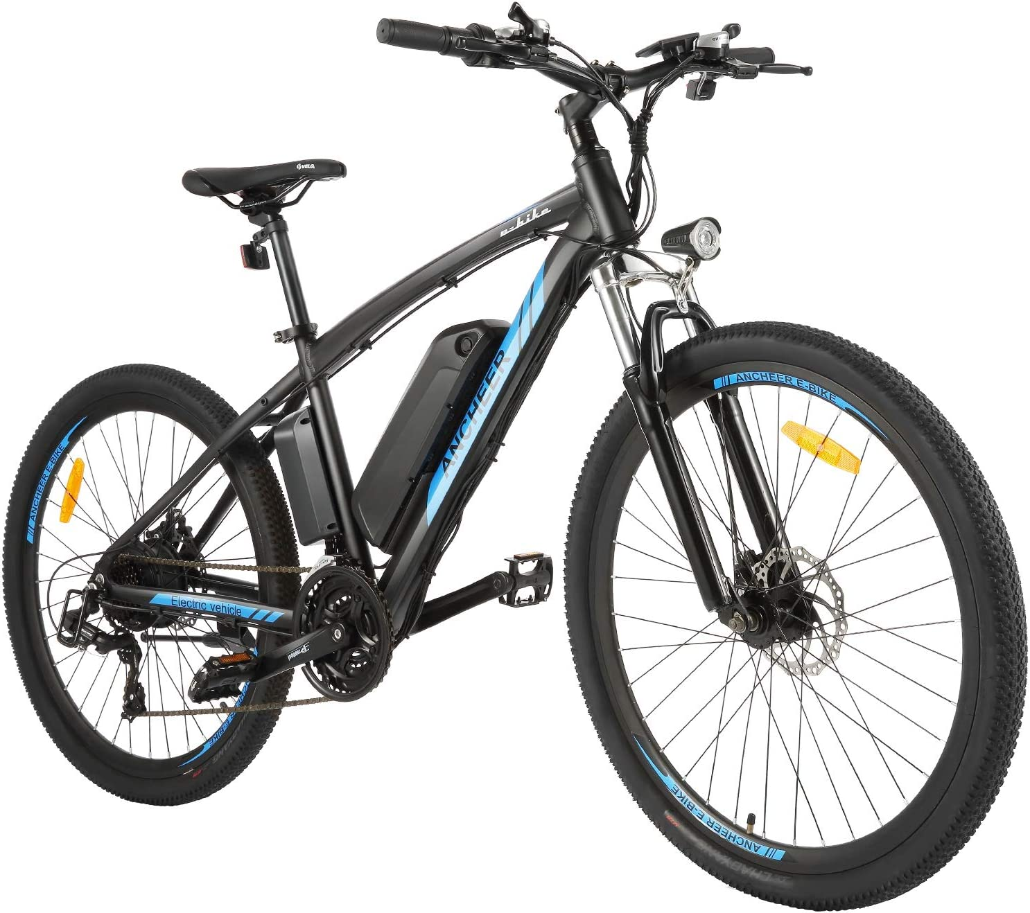 "best electric bike under 1000: Mountain Bike 350W Ebike 26/27.5"" Electric Bicycle by ANCHEER"