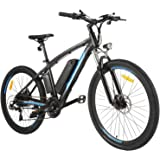 "ANCHEER Electric Bike, 48V 500W 27.5"" Commuter Electric Bike with Removable 48V 10Ah Battery and 21 Speed Gears"