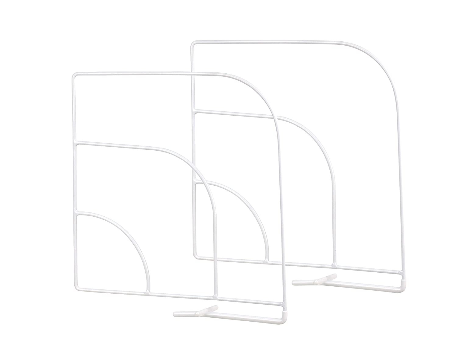 Spectrum Diversified Over-The-Shelf Divider, Large, 1-Pair, Chrome 77170