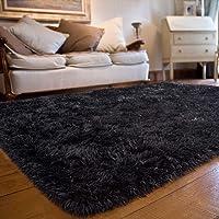 JOYFEEL Soft Fluffy Shag Area Rugs for Bedroom Living Room - Large Fuzzy Fur Carpet Nursery Kids Playroom Classroom…