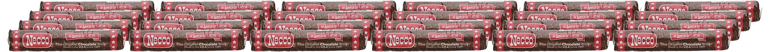NECCO Necco Wafers, Chocolate Rolls, 2.02-Ounce Packages (Pack of 24) by Necco (Image #2)