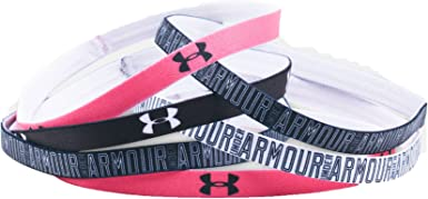 Purple Dusk One Size Fits All Fits All // Blue Ink 555 6 Pack Under Armour Girls Graphic Headbands