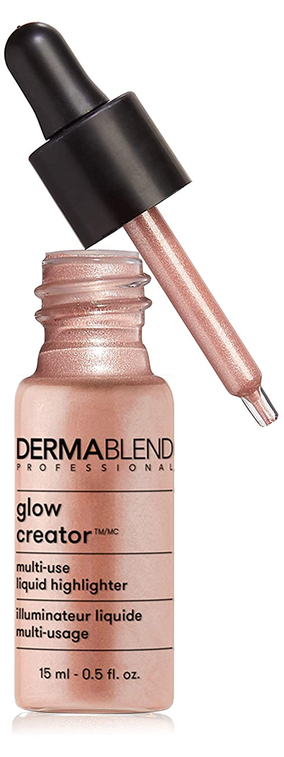 Dermablend Glow Creator Liquid Highlighter Drops, Versatile Makeup for a Buildable Glow