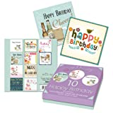 Tallon Just To Say Adult Birthday Card (Box of 10)