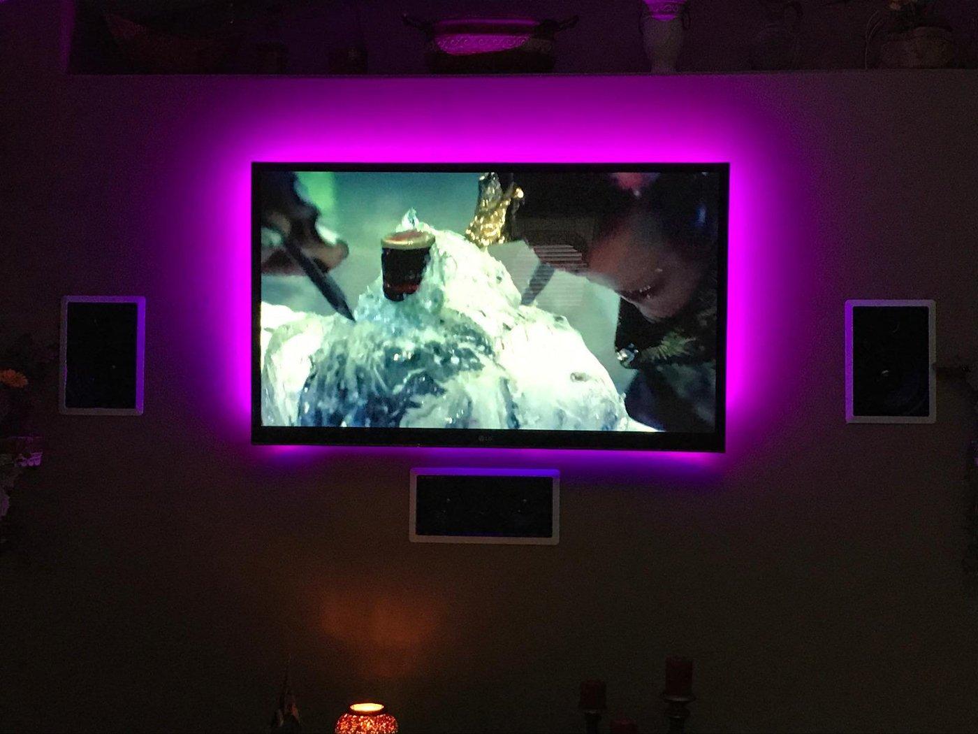 Tv Led Backlight Mcden 16ft4 Light Strip Kit Usb Bias Monitor