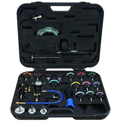 KS Tools Kit para comprobar el circuito de refrigeración, 25 piezas