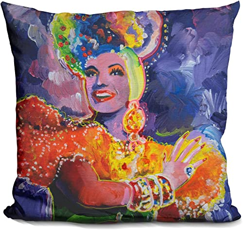 LiLiPi Carmen Miranda 2 Decorative Accent Throw Pillow