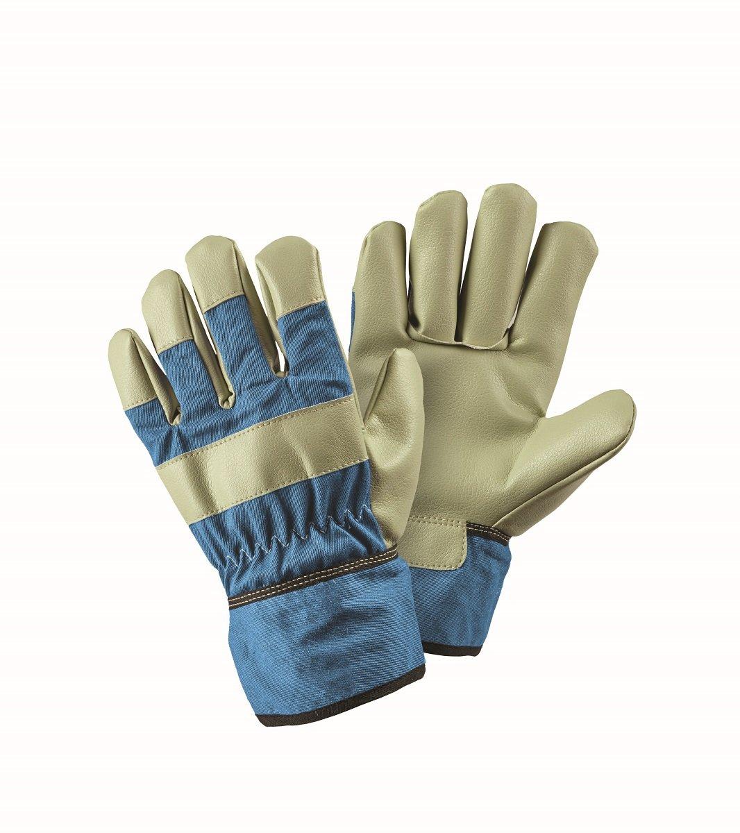 Briers Children's Blue Rigger Garden Gloves