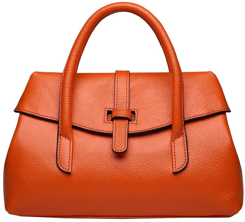 Sarety Giorgia Scarpa Lady Genuine Cowhide Leather Excellent Shoulder Bag Handbag Tote Top-handle