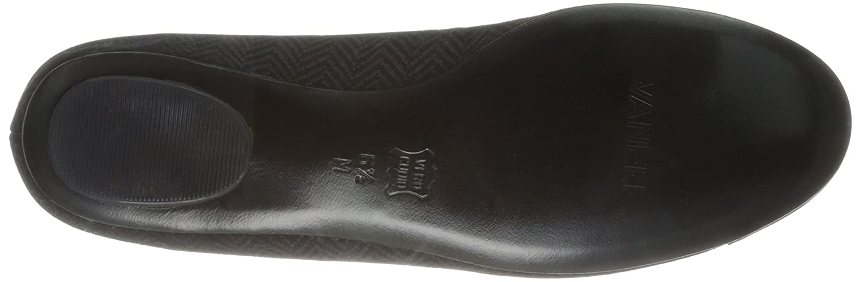 VANELi Women's Seana Ballet Flat B00HLVF8LW 8.5 B(M) US|Black Herringbone