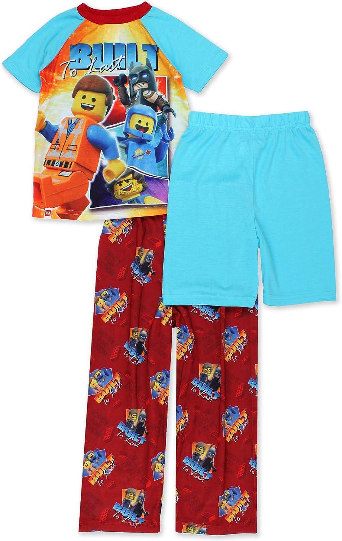 Lego Movie 2 The Second Part Boys 3-piece Pajama Set
