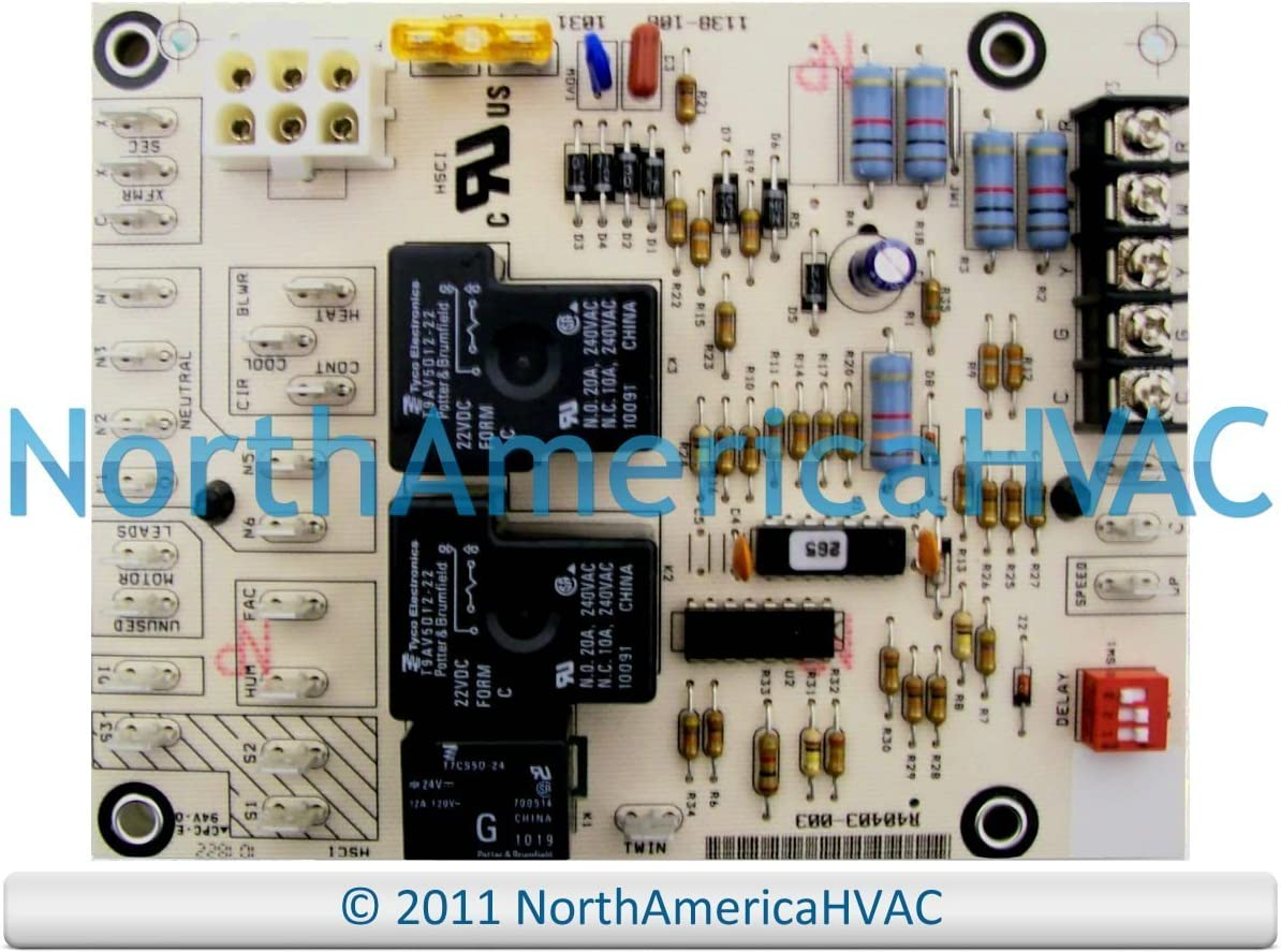 furnace circuit boards amazon com  replacement for honeywell furnace fan control circuit board st9120a2004