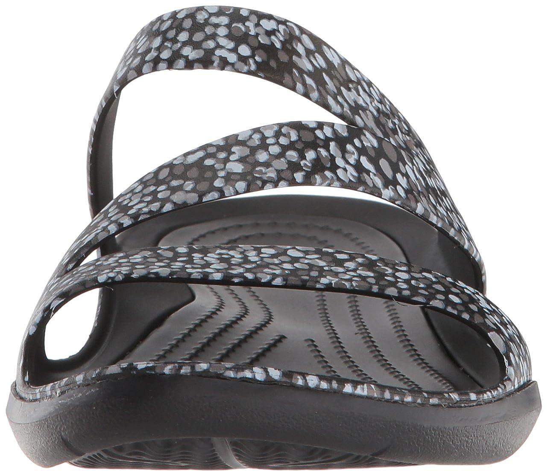 fdc5efd4ec7e Amazon.com  Crocs Women s Swiftwater Graphic Sandal  Shoes