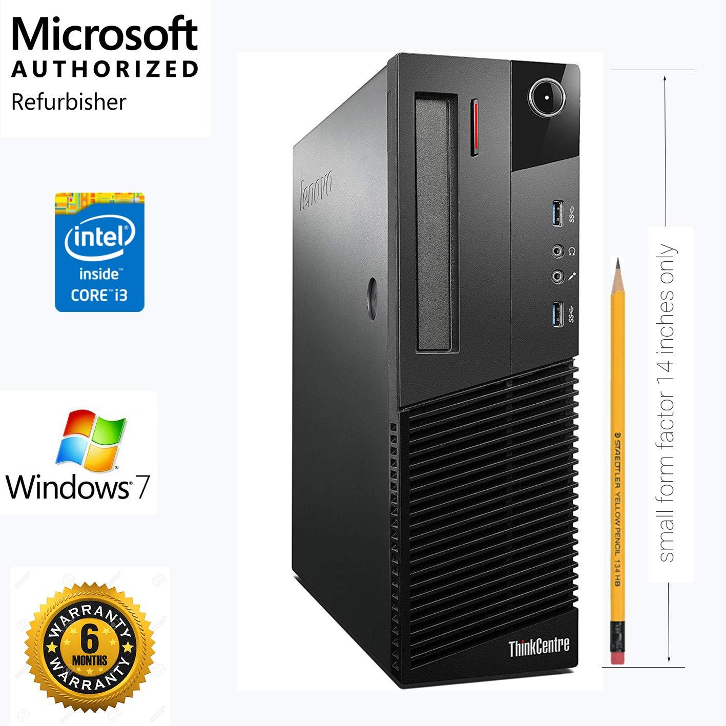 (Renewed) Lenovo Thinkcenter M80 (Core_I3 3.2 Ghz, 4GB DDR3,