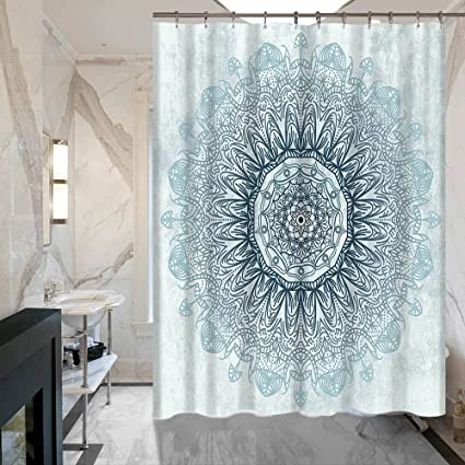 ALDECOR Mandala Shower Curtain Decor